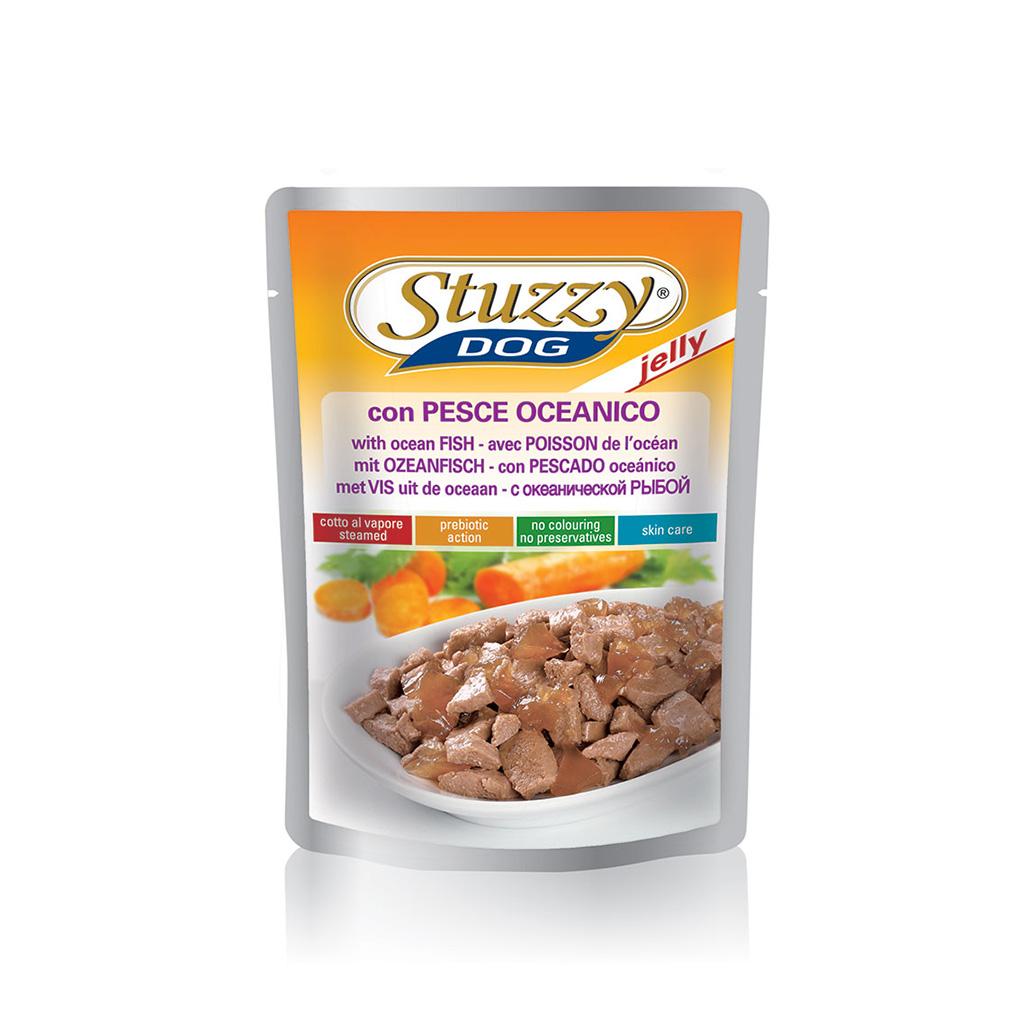 Stuzzy Dog Sobres Con pescado oceánico 100g - Comercial Dog