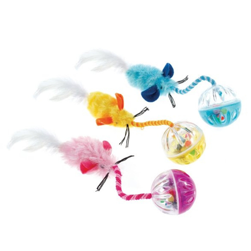 CLASSIC Ball n' Feather Cat Toy