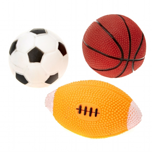 Vinyl Sports Ball Assortment