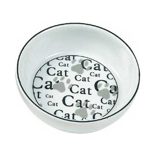 507767 - comedero gato cerámica cat 13 cm