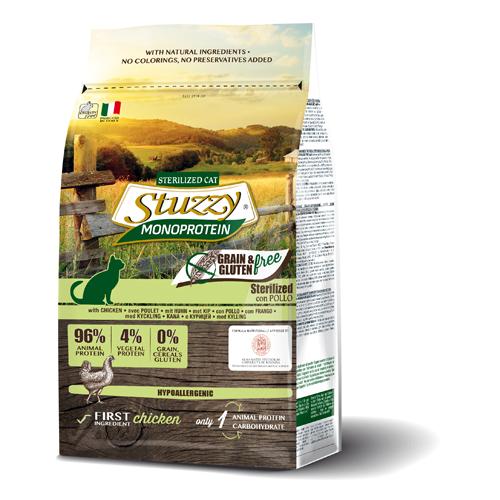 Stuzzy CAT grain free esterilizado con pollo