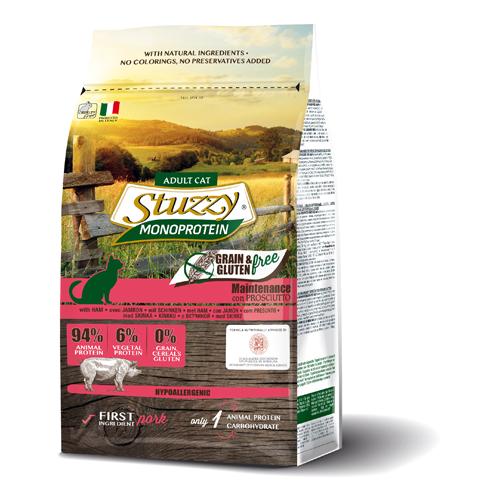 Stuzzy Cat grain free mantenimiento jamón