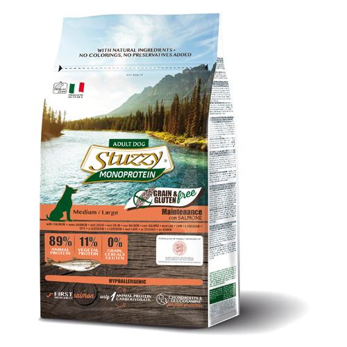 Stuzzy Dog grain free mantenimiento salmón 3Kg