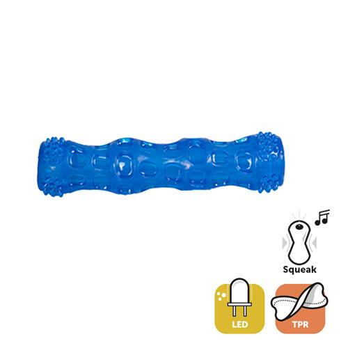 Juguete TPR Palo+Led 18cm